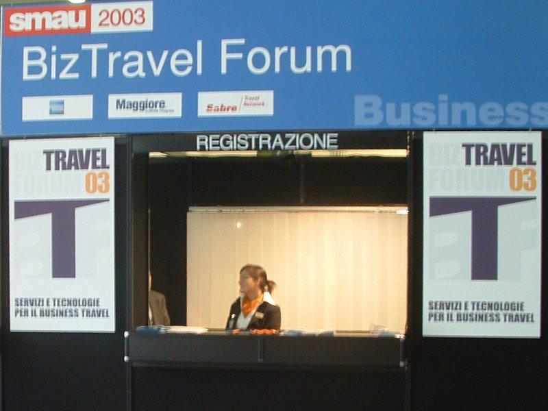2003 - Uvet realizzerà la prima edizione del BizTravel Forum