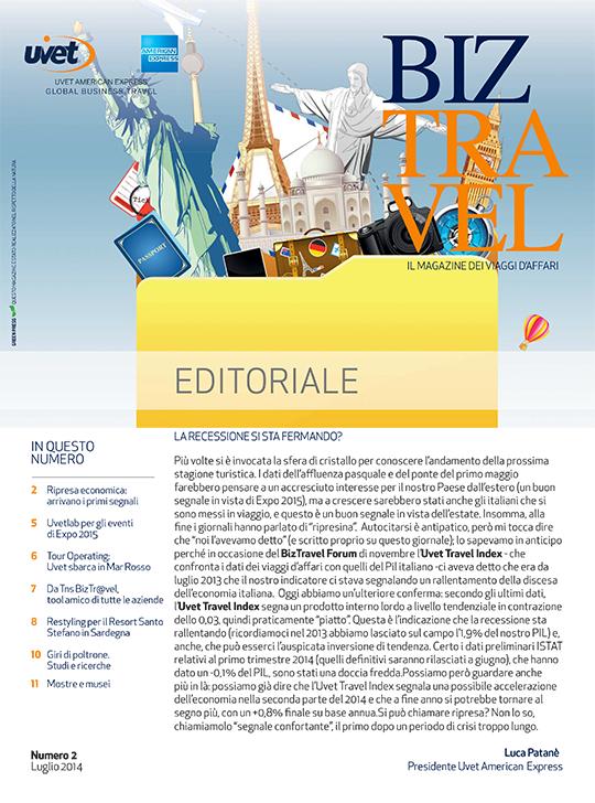 BizTravel Magazine Luglio 2014