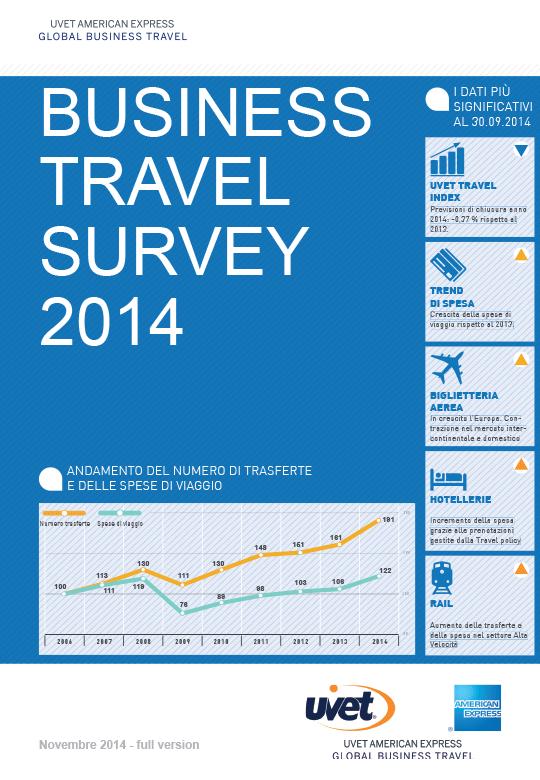 Business Travel Survey Novembre 2014