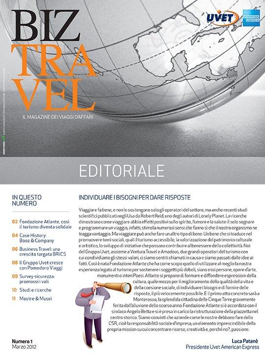BizTravel Magazine Marzo 2012