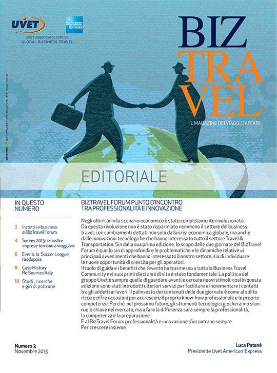 BizTravel Magazine Novembre 2013