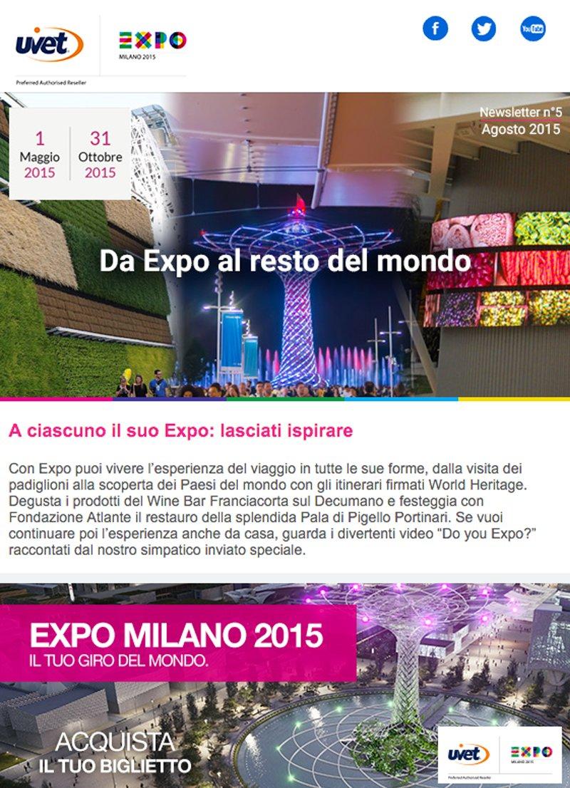 Fai di Expo la tua ispirazione estiva